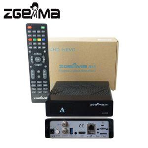 DVB-S2X um sintonizador de TV UHD 4K Zgemma H9S SO Linux E2 Qt