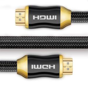 3м HDMI 2.0 (с 4K@60Гц 2160 p 18Гбит/с 1080P, 3D) экранирующая оплетка цинкового сплава
