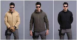 Les hommes de la marque d'hiver de neige Warmful tactique de plein air veste imperméable