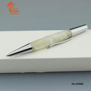 인기 상품에 짧은 열심히 금속 펜 백색 아크릴 볼펜