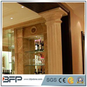 2017 de Hete Kolommen van de Kwaliteit van de Verkoop Natuurlijke goed Decoratieve Griekse Marmeren voor Verkoop
