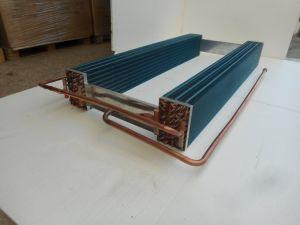 Cobre Alumínio Fin Air-Cooled com o ventilador do condensador