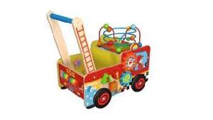 Nova caixa de madeira Multifunção Moda Brinquedo Carrinho para crianças e crianças