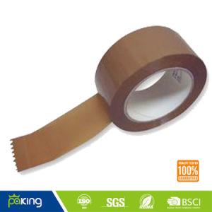 De bruine Zelfklevende Band Met geringe geluidssterkte van de Verpakking