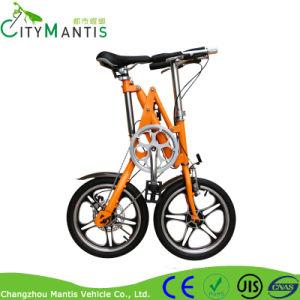 캘리퍼스 브레이크 접히는 자전거를 위한 합금 접히는 프레임