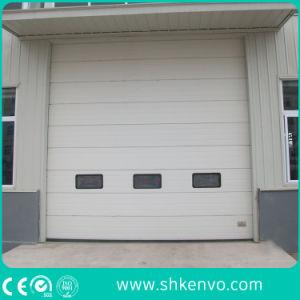Porte Sectionnelle Supplémentaire Industrielle Motorisée Électrique Automatique de Garage
