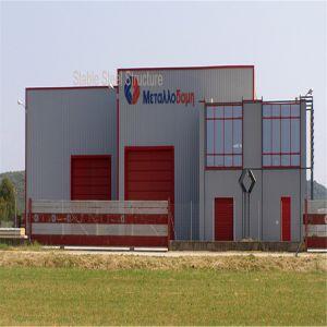 Taller de Fabricación Diseño Estructura de acero de almacén de construcción con la certificación CE