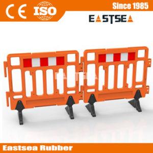 1.1mのHDPEのプラスチック交通安全の塀のバリケードの立場