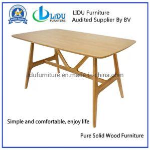 Дуб твердых деревянный обеденный зал в таблице