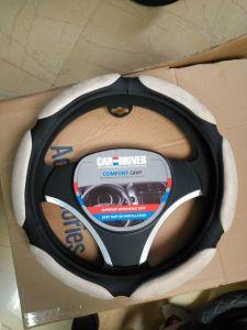 Dekking van het Stuurwiel van de Auto van de Orde OEM/ODM PU/PVC van China Manufactory de Welkome Materiële