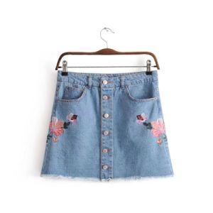 0cab7a21f Falda de Jeans de Moda de China, lista de productos de Falda de ...