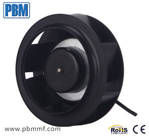 exaustor centrífugo radial pequeno de 175mm