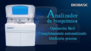 Biobase Marcado CE 500t/h el equipo médico del Hospital Auto Analizador de química con 90 posiciones de la muestra