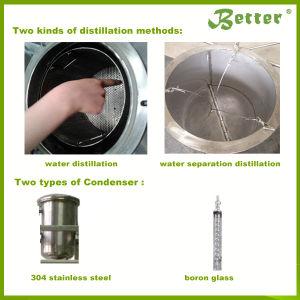 En acier inoxydable de haute qualité d'huile essentielle de l'équipement de distillation