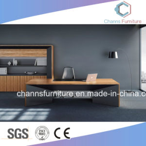 Gerenciador de mesa de madeira executivo moderno mobiliário de escritório de mesa (CAS-ND173292)