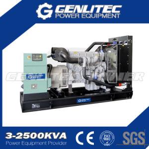 Gruppo elettrogeno diesel industriale aperto del blocco per grafici 1200kw 1500kVA Perkins