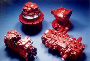 Jcbの掘削機(3CX、4CX、JS200、JS300、JS330)のためのエンジン部分