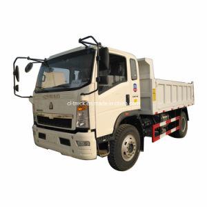 Хорошее качество HOWO 4X2 Тип кузова самосвала погрузчик 5 тонны 6 тонны 7 тонны 8 тонн Самосвал для продажи