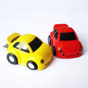 プラスチック小型車の形USBのフラッシュ駆動機構のカスタムメモリディスクUSBの棒