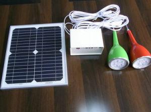 Igualada solar 5W recién diseñadas Yuge-1003b de alta calidad Nuevo Diseño de baterías de litio patente especial Control remoto del sistema de iluminación solar para la casa