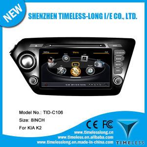 Automobile DVD per KIA K2 2011-2012 con Costruire-nella chipset RDS BT 3G/WiFi DSP Radio 20 Dics Momery (TID-C106) di GPS A8