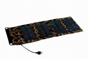 Painel Solar Portátil de 7 W para solução de energia de emergência