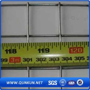 China Wholesale de malla de alambre soldada de acero galvanizado para la construcción (WWM)