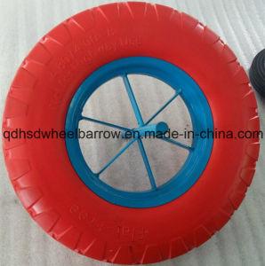 Belleza Duradera de alta calidad de la rueda de poliuretano (4.80/4.00-8) en Qingdao