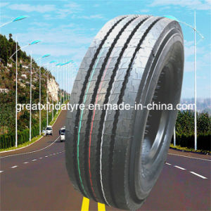 MilitärTruck Tire, Radial Tire mit Rib Smooth Pattern (245/70r17.5)