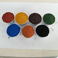 De Reeks van het Oxyde van het Ijzer van het Pigment van de kleur