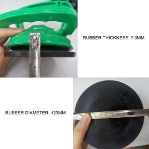 3배 맨 위 알루미늄 유리제 도와 기중기 흡입 컵