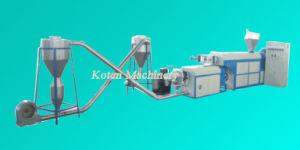 空気冷却のタイプPEのフィルムのプラスチック粒状になる機械