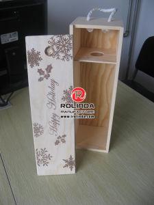 precio de fábrica Sellling caliente de vino de Madera caja de embalaje
