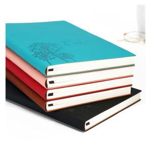 A5 хорошего качества провод фиолетового цвета кожи Custom элегантный ноутбук