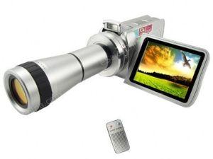 Caméscope numérique MPEG4 avec le télescope optique Zoom (HI308)