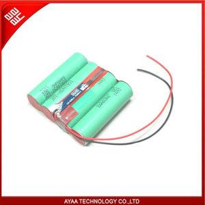 2S2P de 7,4 V 5.2ah utilizando para Samsung 18.650 Li-ion Battery Pack