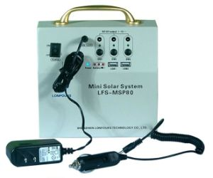 Mini Gerador Solar (80W a Solar PV)