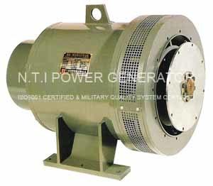 中間周波数の発電機(交流発電機) (TZW)