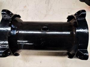 Giunto a manicotto meccanico  *7  di formato 6 per il tubo d'acciaio