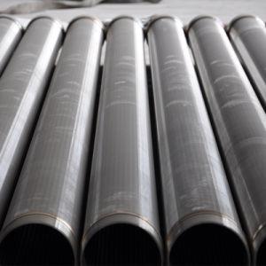 O fio de aço inoxidável de cunha Johnson Tubo de Tela do Filtro da Bomba de Água