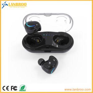携帯電話の充電器ボックスが付いている小型Twsの耳Earbuds
