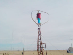 2000W-Wind-Turbine mit 100 kW Blades und Form