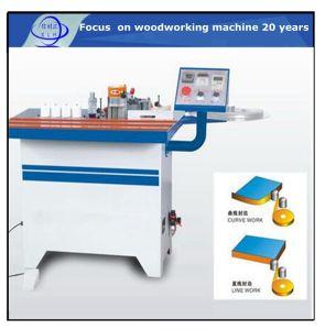 Edger Selvage Manual de la máquina de sellado / máquina de carpintería de madera Portátil el borde recto Bander Semi-Auto / Trabajo de la madera pequeña máquina fabricada en China