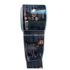 昇進(jpsticker008)のためのステッカーの印刷のカスタムビジネスロゴのステッカーのステッカー