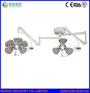 中国の外科手術用の器具二重ヘッドLED天井冷たい操作劇場ランプ