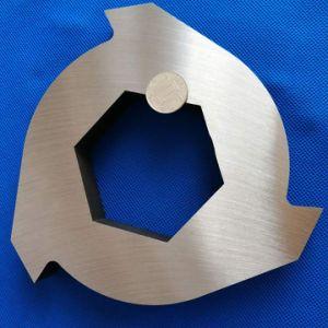 Три 3 зубьев Ножи для шинковки/нож для резиновых шин Biaxial шин