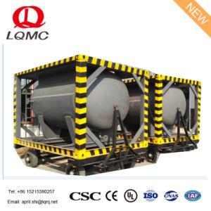 燃料ポンプを搭載する24000LオイルISOタンク容器