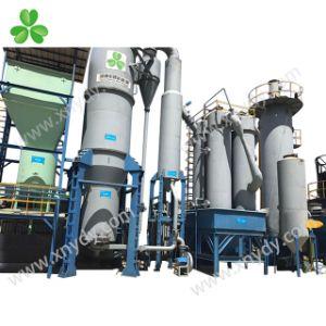 30-60mm limpieza de carbón de dos etapas de combustible de Gas de hulla de la gasificación del generador de horno
