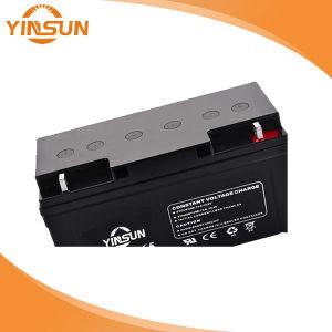 12V65Ah recargable, batería de plomo ácido equipos médicos