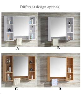 El cuarto de baño armario de pared con espejo espejo / gabinete – El ...
